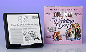 Countdown to Our Wedding Day, from Filsinger Publishing